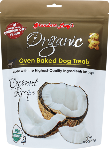 Grandma Lucy's Dog Treats Organic Coconut 14 oz