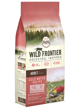 Nutro Wild Frontier Cat Cold Water Salmon 5lb