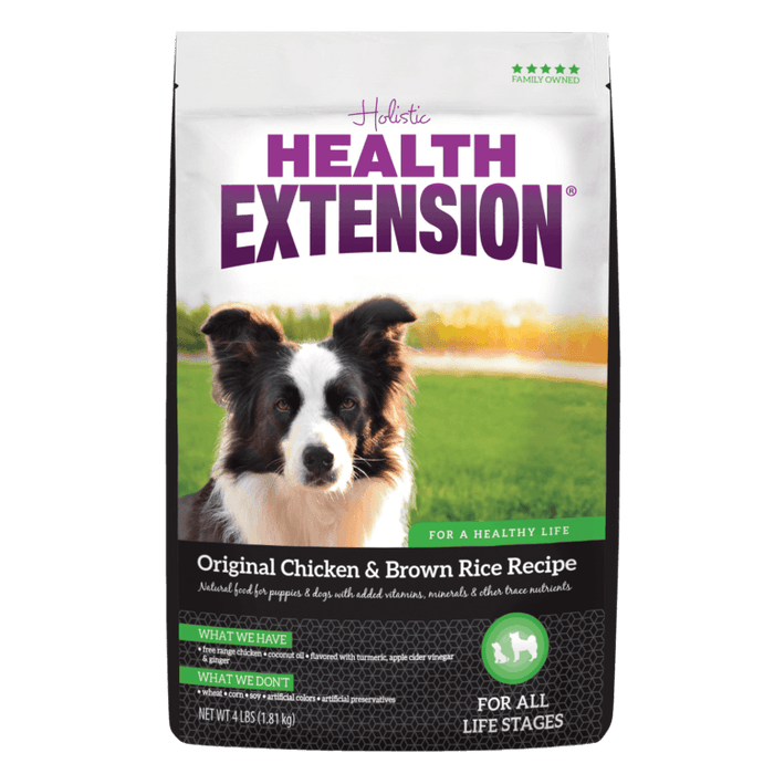 Health Extension Original Weight Management Dry Dog Food 4 lb