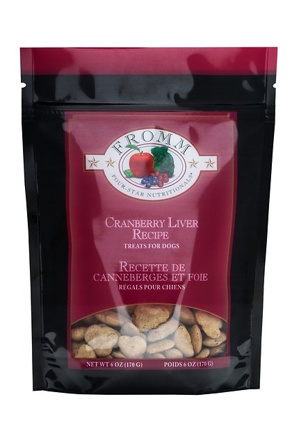 Fromm Treats Low Fat Cranberry & Liver 8oz