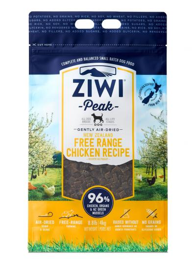 Ziwi Peak Air Dried Chicken Dog Food