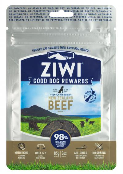 Ziwi Peak Good Dog Rewards Pouches Beef 3 oz