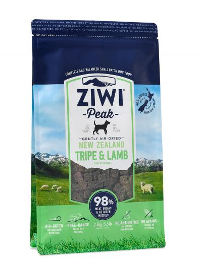 Ziwi Peak Dog Air Dried Tripe and Lamb