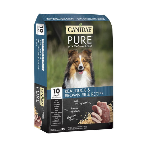 Canidae Pure with Wholesome Grains Real Duck & Brown Rice Recipe Dry Dog Food