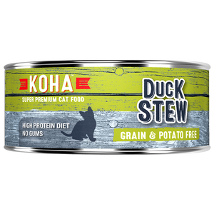 Koha Cat Grain Free Duck Stew 5.5oz