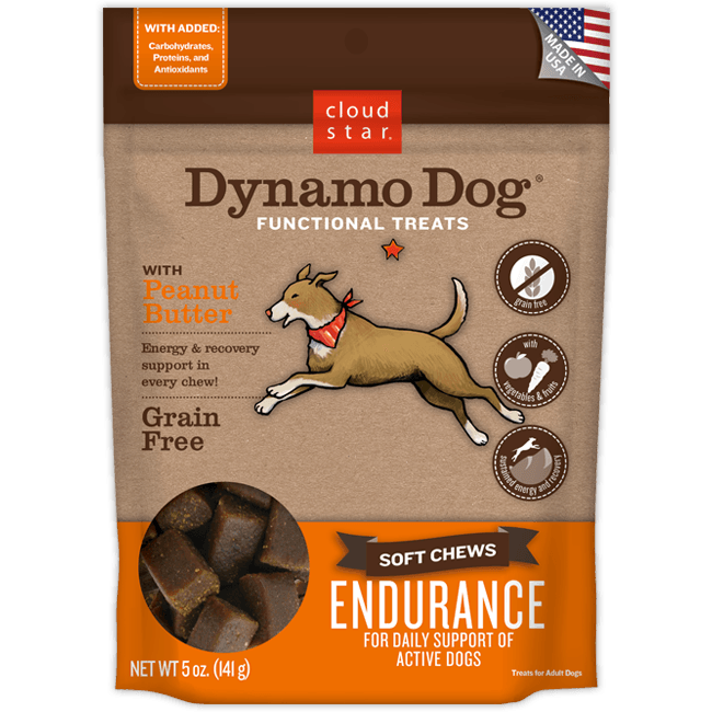 CloudStar Dynamo Treat Endurance Peanut Butter 5 oz