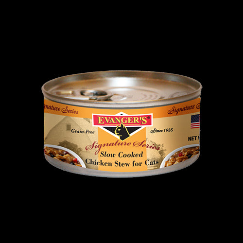 Evangers Cat Can Grain Free Signature Slow Cooked Chicken Stew 5 oz