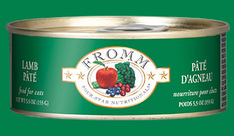 Fromm 4 Star Cat Can Lamb Pate 5.5 oz