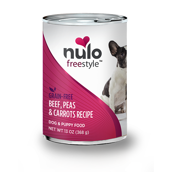 Nulo Can Dog Beef Grain-Free Food, 13 oz