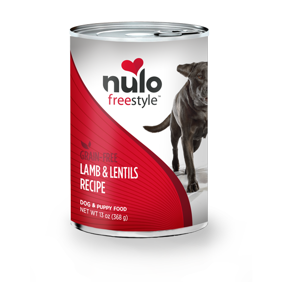 Nulo Freestyle Lamb & Lentils Recipe Grain-Free Canned Dog Food 13 oz
