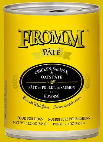Fromm Chicken, Salmon & Oats Pate 12.2oz