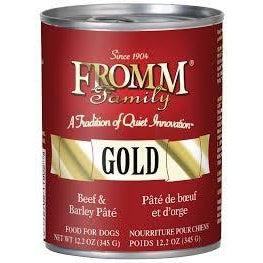 Fromm Gold Beef 7 Barley Pate 12oz