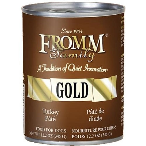 Fromm Gold Turkey Pate 12 oz