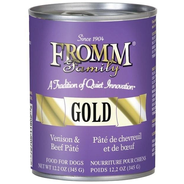Fromm Gold Venison & Beef Pate 12oz