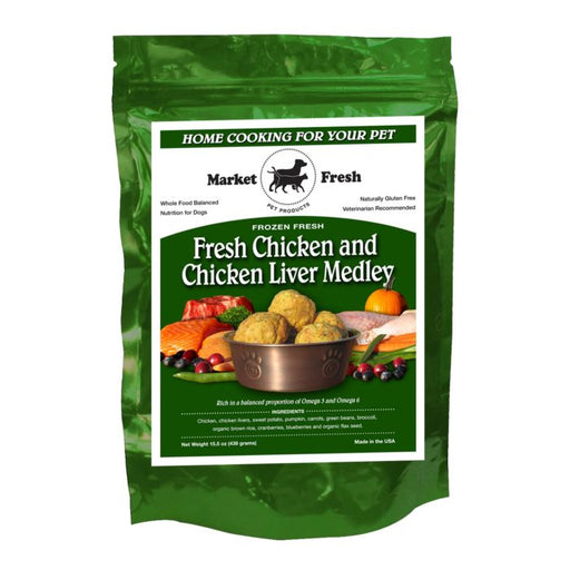 Market Fresh Chicken and Chicken Liver Medley 1 lb