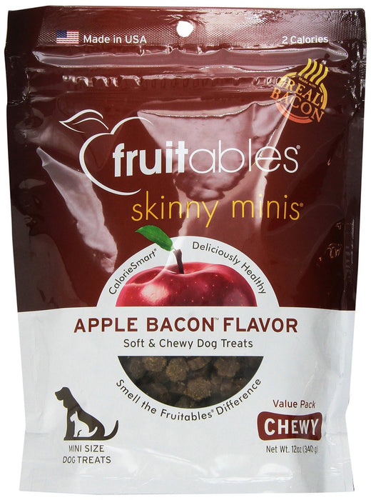 Fruitables Skinny Minis Bacon Apple 12 oz