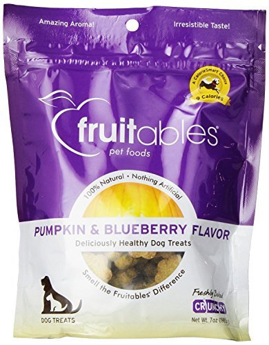 Fruitables Treat Pumpkin Blueberry 7oz