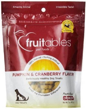 Fruitables Treat Pumpkin Cranberry 7oz