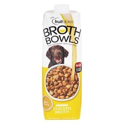 Fruitables Broth Bowls - Chicken 33.8 oz