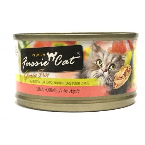 Fussie Cat Premium Tuna Canned Cat Food 2.82 oz