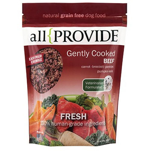All Provide Frozen Gently Cooked Beef Recipe 2lb