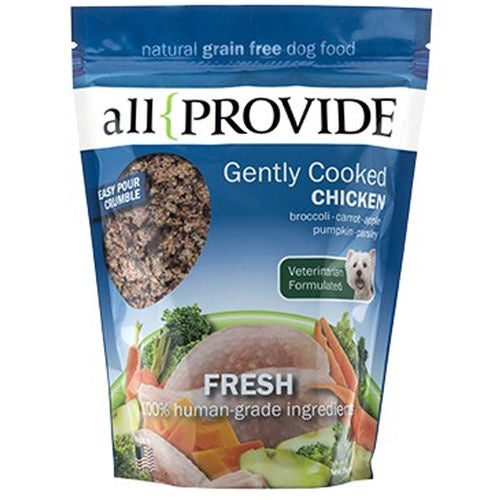 All Provide Frozen Gently Cooked Chicken Recipe 2lb