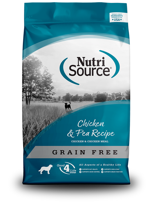 NutriSource Grain Free Chicken and Pea Dog Food