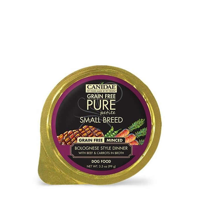 Canidae Pure Petite Grain Free Bolognese - Beef and Carrots 3.5oz