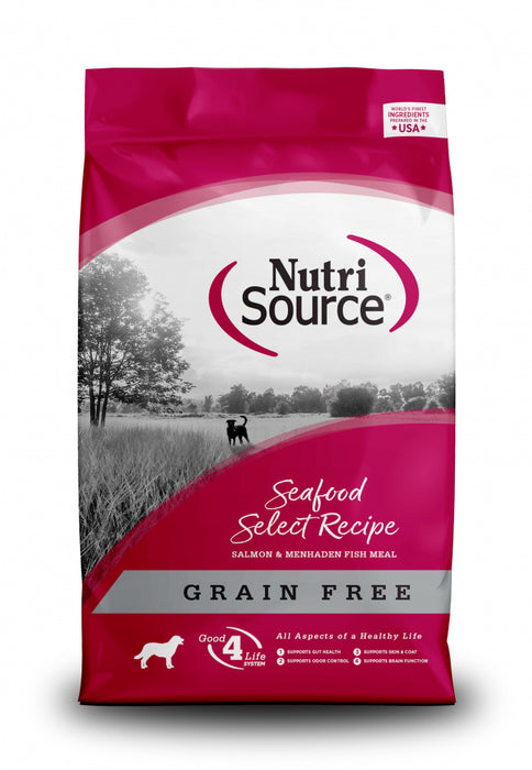 NutriSource Grain Free Seafood Select Recipe Dog Food