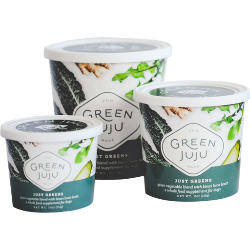 Green Juju Frozen Just Greens Blend