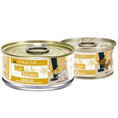 Weruva Gold Lox Chicken and Salmon 3.2 oz