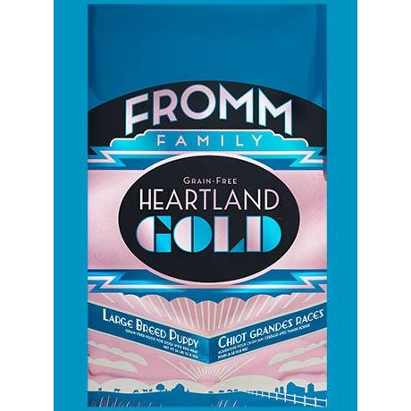 Fromm Heartland Gold Grain Free Large Breed Puppy 4lb