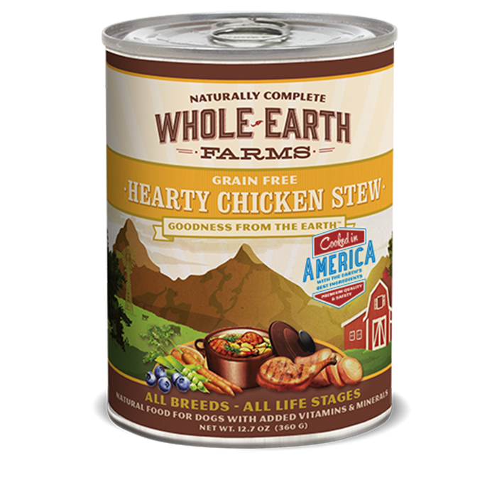 Merrick Whole Earth Farms Hearty Grain Free Chicken Stew 12.7 oz