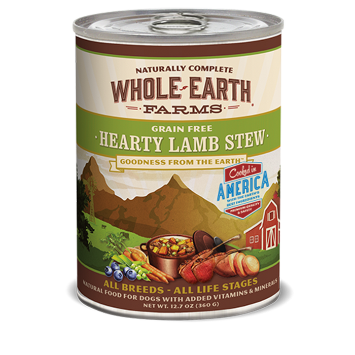 Merrick Whole Earth Farms Hearty Grain Free Lamb Stew 12.7 oz
