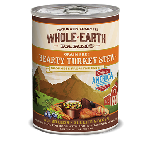 Merrick Whole Earth Farms Hearty Turkey Stew 12. oz