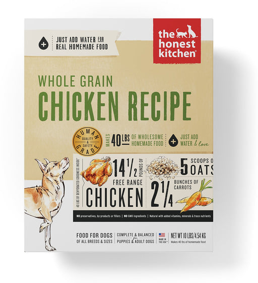 The Honest Kitchen Whole Grain Dehydrated Dog Food, Chicken
