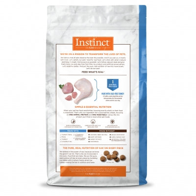 Nature's Variety Instinct LID Turkey Dog Food