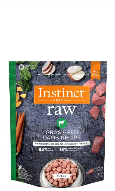 Nature's Variety Instinct Raw Frozen Bites 85/5