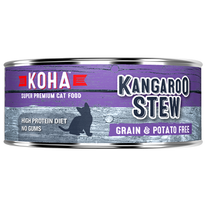 Koha Cat Grain Free Kangaroo Stew 5.5oz