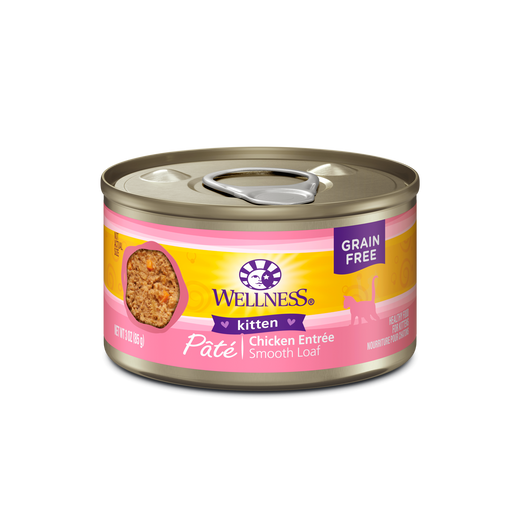 Wellness Kitten Food 3 oz