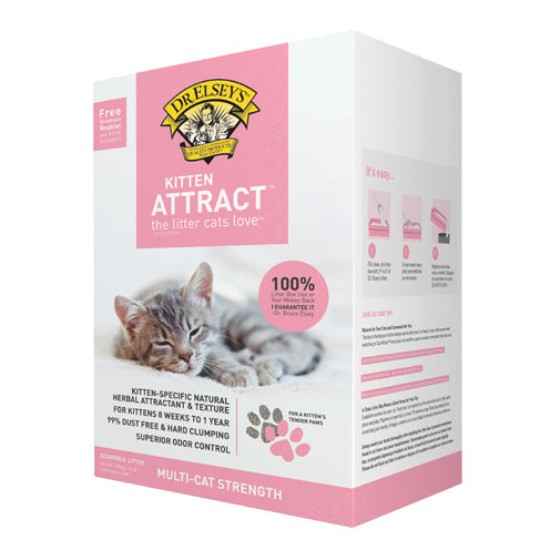 Precious Cat Dr. Elsey's Kitten Attract Scoopable Cat Litter 20 lb