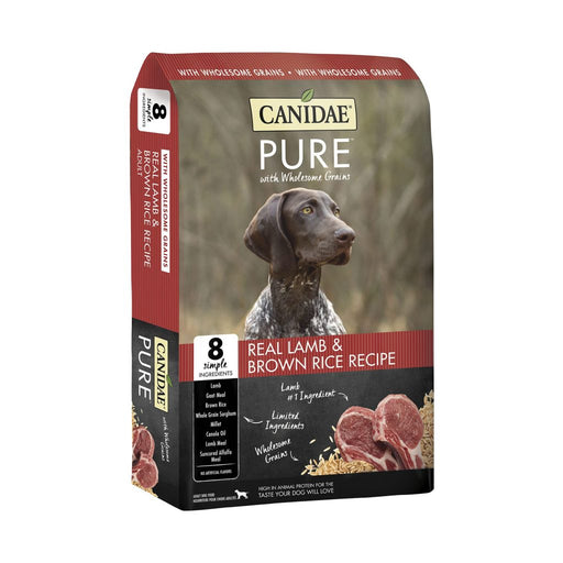 Canidae Pure with Wholesome Grains Real Lamb & Brown Rice Recipe Dry Dog Food
