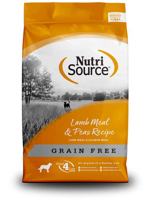 NutriSource Grain-Free Lamb Meal & Pea Dry Dog Food