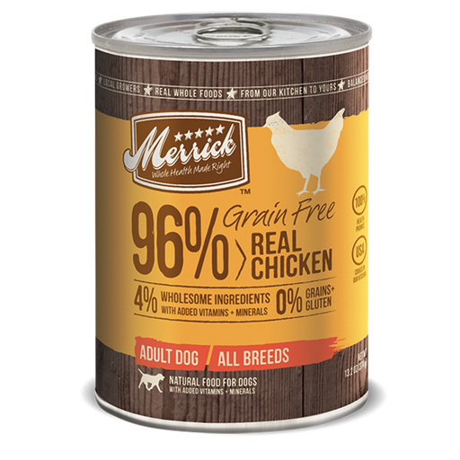 Merrick 96% Grain Free Chicken 13.2 oz