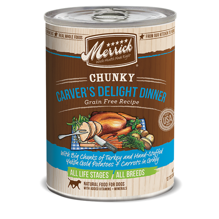Merrick Chunky Carver's Delight Dinner 12.7 oz