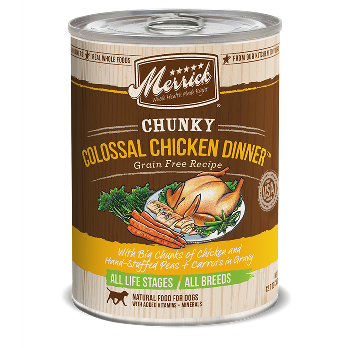 Merrick Chunky Colossal Chicken Dinner 12.7 oz
