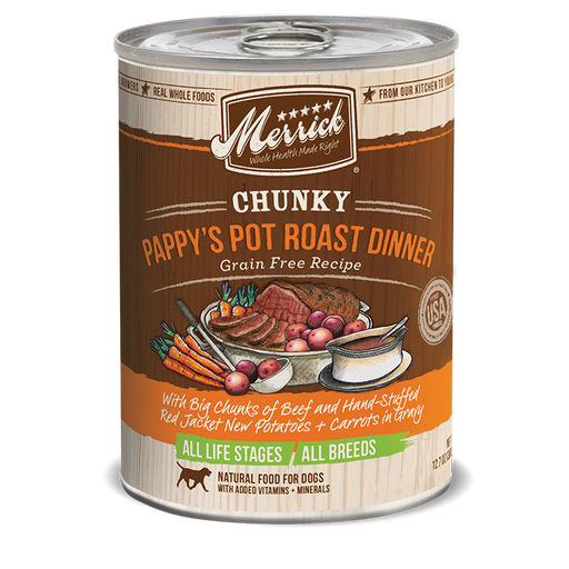 Merrick Chunky Pappy's Pot Roast 12.7 oz
