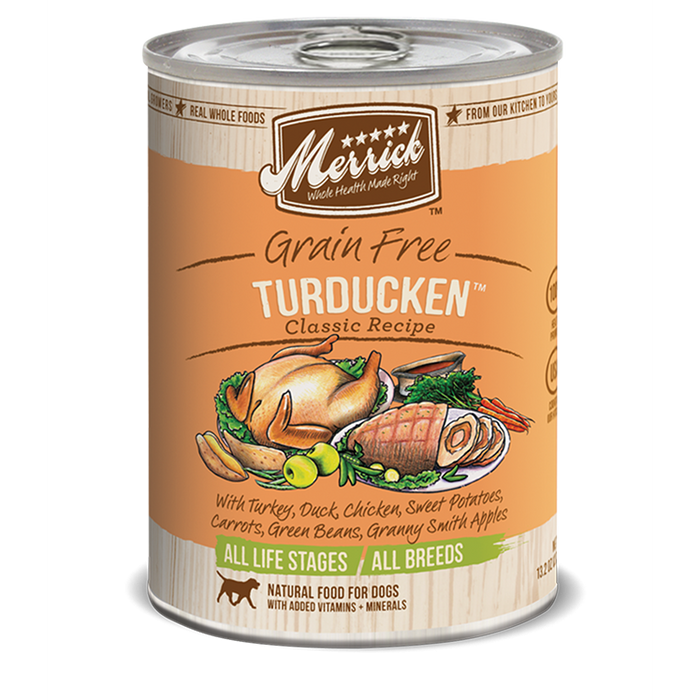 Merrick Turducken Dog Food 13.2 oz