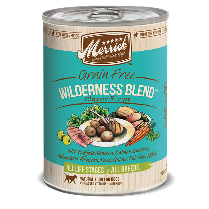 Merrick Wildnerness Blend Dog Food 13.2 oz