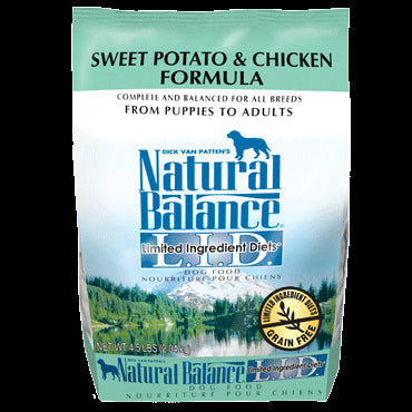 Natural Balance Limited Ingredients Diet Dog Food: Chicken and Sweet Potato